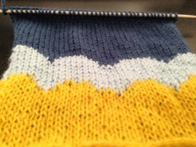 modèle de tricot avec explications